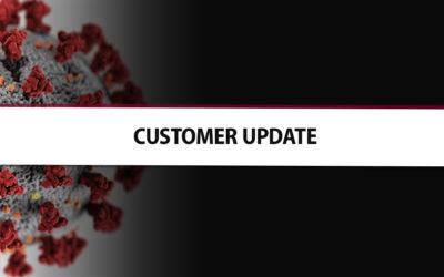 Coronavirus | Customer Update